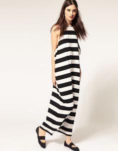 e6f9e64f5e Cheap Monday Monochrome Maxi Dress Stripped Maxi Dresses