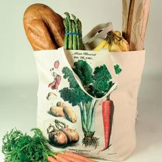 sort of has the botanical motiff --  Victorian Trading Co. Market Tote
