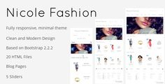Deals Nicole Fashion Bootstrap 3 eCommerce Templatelowest price for you. In addition you can compare price with another store and read helpful reviews. Buy