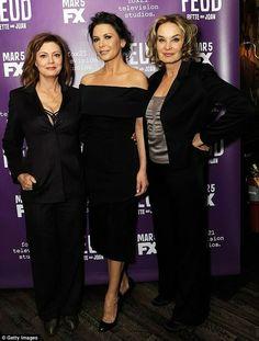Lange, Sarandon, Zeta-Jones #Feud