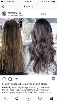 Trendfrisuren Joe, akkurater Mittelscheitel oder People from france Reduce Kick the bucket Frisurentrends 2020 Haircut And Color, Hair Color And Cut, Hair Color Dark, Brown Hair Colors, Hair Colour, Ash Hair, Tips Belleza, Brunette Hair, Balayage Hair