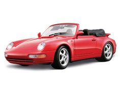 The Burago Porsche 911 Carrera Cabriolet, is a diecast model car from this fantastic manufacturer in 1/18th scale. Bburago's stunning range of 1/18 die cast cars cover subjects old and new including famous car brands like Morgan, Porsche, Lamborghini and Maserati. Each model has been replicated in 1/18 scale and features a factory painted metal body with multiple coloured plastic detailing parts.