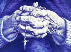 old hands by AlexndraMirica on DeviantArt Ballpoint Pen Drawing, Middle English, Old Hands, Pen Sketch, Evil Spirits, Art Of Living, Pencil Drawings, Badass, Concept