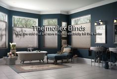 Thermoflex Blinds are a game changer in window coverings.  Modern window blind that not only will look great but will also have the best performance when it comes to insulation. Choices of Blackout Fabrics or Light filter and a range of control styles like Cordless, Corded, Top Down Bottom up. Mix and match to create a perfect Blinds for your home or office.