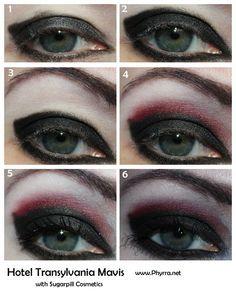 fe4f08a1dd55c Gothic Makeup Tutorial