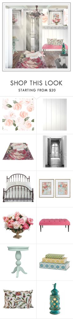 """Soft Landing"" by fowlerteetee ❤ liked on Polyvore featuring interior, interiors, interior design, home, home decor, interior decorating, Fatboy, Maison Margiela, Hillsdale Furniture and Home Decorators Collection"