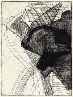 Annette Wimmershoff Printmaking, Illustrations, Black And White, Abstract, Drawings, Artwork, Prints, Art, Summary