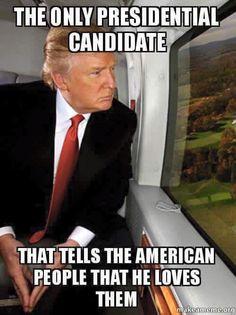 True!!! Donald J. Trump 2016!!