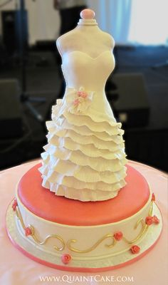 Dress Cake by quaintcake, via Flickr