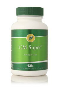 4life CM Super with Calcium and Magnesium for Bone Health 90 Capsules * undefined