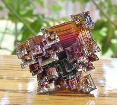 Bismuth Crystal #6671-3 by BeeblebroxZ