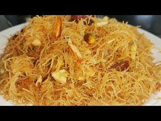 Sweet Vermicilli Eid Special Recipe | Meethi Seviyaan For Iftar Dawat | Semiya Recipe Iftar Party - YouTube Indian Dessert Recipes, Ethnic Recipes, Indian Sweets, Indian Recipes, Pakistani Recipes, Dessert Ideas, Sevai Recipe, Baba Recipe, Iftar Party