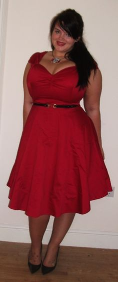 Red Evening Dresses for Big Girls