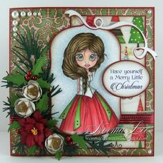 From My Craft Room: Have Yourself A Merry Little Christmas - FFFC #154 'Happy Holidays'