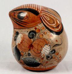 Vintage Mexican Ceramic Rabbit Piggy Bank.  Hand Made from Tonola, Mexico.  http://www.ebay.com/itm/Vintage-Mexican-Ceramic-Rabbit-Piggy-Bank-Hand-Made-from-Tonola-Mexico-/321558101165?