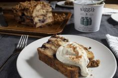 siggi's Icelandic yogurt - Recipes Siggis Yogurt, Oat Muffins, Yogurt Recipes, Recipe Using, Iceland, French Toast, Yummy Food, Breakfast
