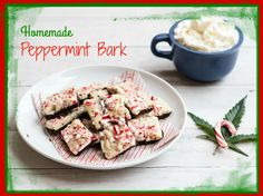 Nothing says Happy Holidays like homemade peppermint bark!