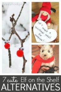 7 alternatives to elf on the shelf