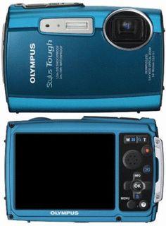 Olympus Stylus Tough-3000 underwater camera