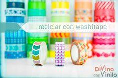 25 ideas para reciclar con washi tape
