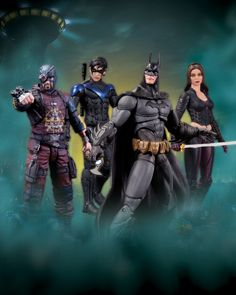 Just arrived. DC Arkham City Series 4 Figures!!!