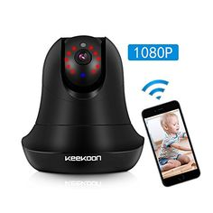 Wireless IP Camera, MZvul HD 1080P Internet WiFi IP Secur...