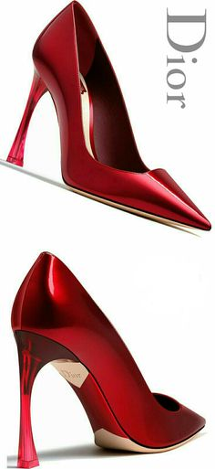 Dior High Heels Fall - Dior Shoes - Ideas of Dior Shoes - Brilliant Luxury Dior Pump Fall Stilettos, Pumps Heels, Stiletto Heels, Dior Shoes, Red Shoes, Me Too Shoes, Louboutin Shoes, Women's Shoes, Red High Heels
