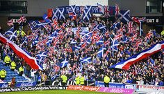 Flag display at home to Celtic. Rangers Football, Rangers Fc, Ultras Football, Home Team, Chelsea Fc, Banks, The Good Place, My Photos, Glasgow Scotland