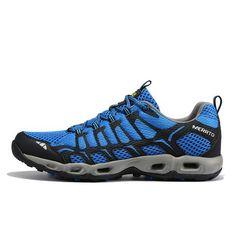 hot sales 35372 afe54 MERRTO Trail- Running Shoes Blue - Men s - Camotrek