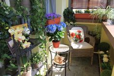 So peaceful Amazingly Pretty Decorating Ideas for Tiny Balcony Spaces