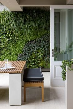 Get that beautiful botanical look in your home. Artificial vertical gardens are easy to install and are completely maintenance free. They offer plenty more color, texture and ambiance wallpaper of paint.