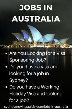 What You Need to Know about Finding a Job in Australia
