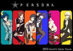 Persona series protagonists All Anime, Me Me Me Anime, Persona Crossover, Yu Narukami, Shin Megami Tensei Persona, Video Game Anime, Persona 4, Manga Games, Anime Style