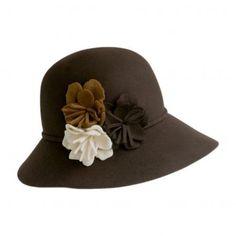 Fiona Floppy Cloche Hat  available at #VillageHatShop
