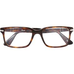Persol rectangular frame glasses (3.521.100 IDR) ❤ liked on Polyvore featuring accessories, eyewear, eyeglasses, brown, rectangular eyeglasses, tortoise eye glasses, tortoise eyeglasses, tortoise shell eye glasses and persol eyewear
