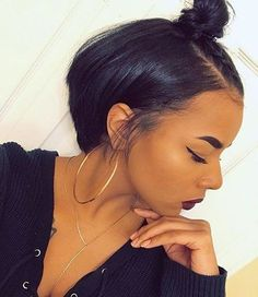 Choose the correct stylist for the African American short black ladies short haircut styles - Black Haircut Styles Black Girl Bob Hairstyles, Cute Hairstyles For Short Hair, Short Hair Cuts, Straight Hairstyles, 1930s Hairstyles, Hairstyles 2018, Braided Hairstyles, American Hairstyles, Trendy Hairstyles
