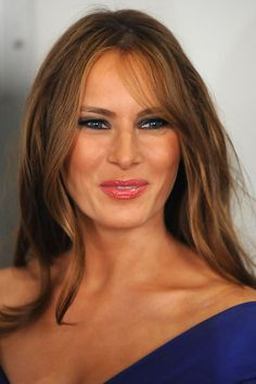 First Lady Melania Trump Donald Trump, Melina Trump, Melania Knauss Trump, American First Ladies, Donald And Melania, Hair Color Caramel, First Lady Melania Trump, Trump Melania, Thing 1