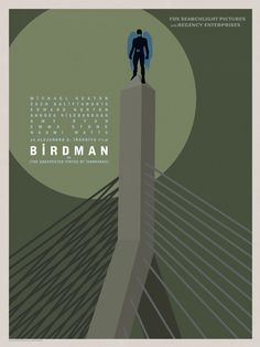 Birdman Posters Put the Film's Hero in 10 North American Cities -/Film Minimal Movie Posters, Film Posters, Oscar Winning Films, Film Images, Internet Movies, Alternative Movie Posters, Film Books, Great Films, Minimalist Poster