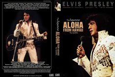 """Elvis """"Aloha From Hawaii """" Rare Japan Version, filmed from completely different angles,NTSC,codefree RC0.Playable on PC and on DVD-Players.BONUS:""""The Alternate Aloha"""" concert which was a test for the"""
