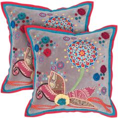 I pinned this Olivia Pillow - Set of 2 from the Rizzy Home event at Joss and Main!