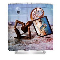 Pink Floyd Perceptual Thinker Shower Curtain
