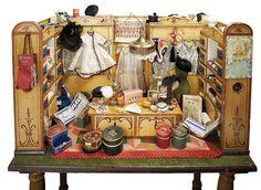 """German """"Les Modes Parisienne"""" Milliner's Shop by Christian Hacker"""