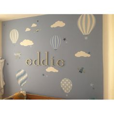 hot air balloon wall art - Recherche Google