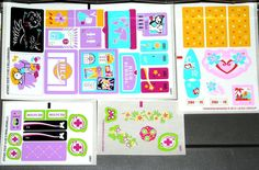 LEGO 4 FRIENDS STICKERS Authentic Decals for Sets 3184/41005/41033/41036 #LEGO