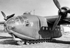Arado Ar-232B Tausendfüßler (Millipede) Was a Modern Cargo Aircraft – Crew: 4 (Pilot, Navigator/Gunner, Radio Operator/Gunner, Loadmaster/Gunner) Powered by 4 × BMW Bramo 323R-2 Fafnir 9-Cylinder Air Cooled, Radial Engine, Rated at1,200 hp Each – Armament: 1 x 13mm MG 131 Machine Gun (Mounted in Nose) 1 x 20mm MG 151/20 Cannon (Mounted in Powered Dorsal Turret) 1 – 2 x 13mm MG 131 Machine Guns (Mounted in Rear and 8 x 7.92mm MG 34 Machine Guns (Mounted in Side Windows, when transporting…