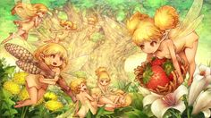 View an image titled 'Midsummer Night's Dream Art' in our Dragon's Crown art gallery featuring official character designs, concept art, and promo pictures. Dragons Crown, Fantasy Races, Fantasy Girl, Magical Creatures, Fantasy Creatures, Midsummer Night's Dream Characters, Crown Art, Character Art, Character Design