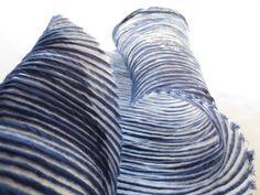 Lucia Lapone  textile designer: WORKSHOP Shibori, Textile Design, Fun Crafts, Workshop, Textiles, Throw Pillows, Abstract, Artwork, Fabrics