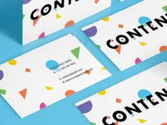 Content Businesscards by STUDIOJQ