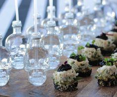 Crystal Head Vodka Minis ft. Canape Company