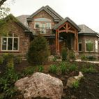 Exteriors - traditional - exterior - salt lake city - by Joe Carrick Design - Custom Home Design